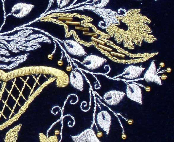 Фрагмент вышивки 61 Кб